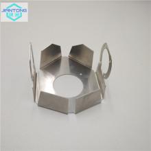 dissipateur thermique en aluminium découpé au laser avec pliage et poinçonnage