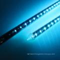 Club design 3D DMX music led hanging meteor tube light for ceiling