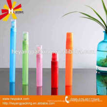 Hot sell colorful perfume bottle with sprayer