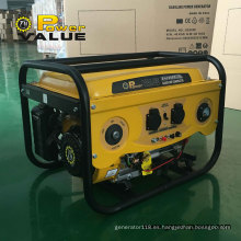 Power Value 2.5kw Alternador de cobre 650va-Gasoline-Generator en venta