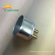 T5 Aluminum End Cap G15 LED tube cover
