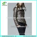 ladies short fashionable jacket with fur collar