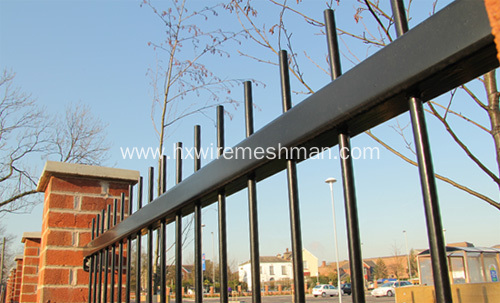 Steel Bar Security Fencing