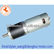 12v wheelchair dc motor high torque brush geard motor
