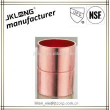 Conexão de tubos de cobre acoplador igual CxC UPC NSF