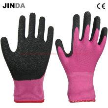 Рабочие перчатки с латексной оболочкой из нейлоновой оболочки (LS216)