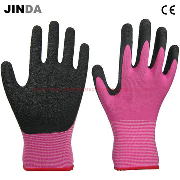 Nylon Shell Latex Coated Working Gloves (LS216)