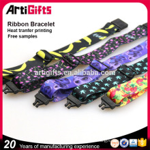 From china professional satin ribbon bracelet