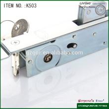 Cerradura ocultada para puerta de aluminio