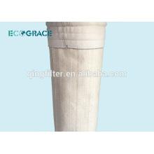 Bolsa de filtro de polvo para plantas de cemento de fibra de vidrio