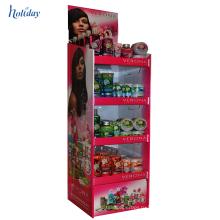 Бумажный Материал торгового киоска продажи дизайн для продуктов женщин