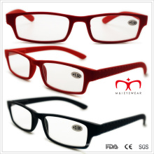 Unisex Plastic Reading Glasses with Spring Temple (WRP508321)
