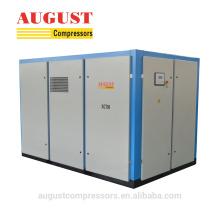 Compresor de aire de tornillo rotativo de compresión de doble etapa 160KW
