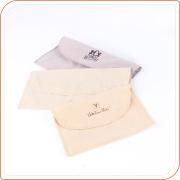 Softy velvet wallet pouches packing envelops custom bag