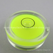 Flacon de bulle circulaire (Dia / 30mm X Height / 11mm)
