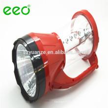 Luz de emergência LED recarregável, luz de emergência de energia solar
