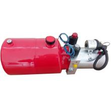 Groupe hydraulique à double effet pour remorque