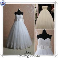 RSW405 Vestidos de casamento de renda para noivas grávidas