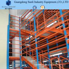 Selective Warehouse Storage Solution Rack Steel Mezzanine