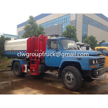 Dongfeng 153 14CBM Hydraulique Lifter camion à ordures