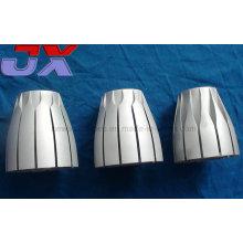 Prototipos de torneado del CNC de aluminio de la alta precisión