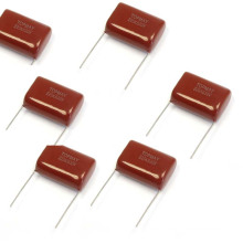 Polyester Film Capacitor Cl21 with Short Kinked Pin 33NF 250V