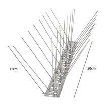 0.25 m to 1.0 m Stainless Steel Anti Bird Spike Control