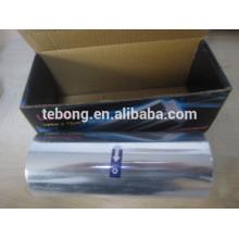 Aluminio Papel laminado laminado para peluquería con dispensador en relieve e impresión
