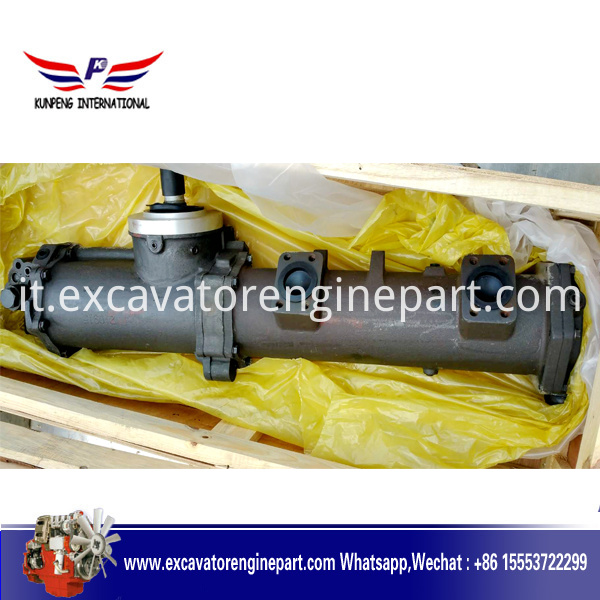 NT855 original or high quality OEM diesel engine parts aftercooler lube oil cooler 3053393 3260651 3006098
