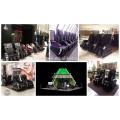 Coin-betriebener kommerzieller Massagestuhl, Stuhl der Massage 3D