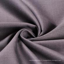 Tissu en satin en T / R en polyester à rayonne