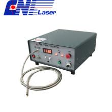 Sistema láser de alta potencia con acoplamiento de fibra