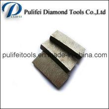Segment de coupe de pierre de diamant pour la lame de scie de granit