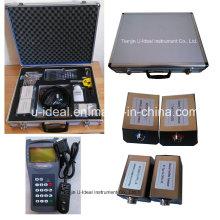 Sensor de fluxo / medidor de fluxo ultra-sônico de mão