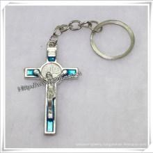 Jesus Cross Key Chain Religious Cross Key Chain Christian Cross Key Chain (IO-CK061)