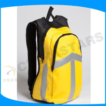 Laranja alta visibilidade Reflective Bag Pack com fita reflexiva