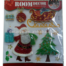3D Fashion Christmas sticker for wall