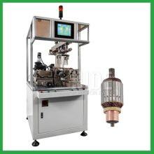 Two working station armature dynamic balancing machinery