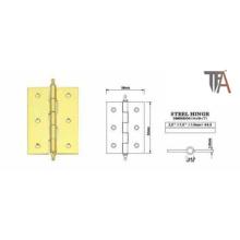 Goldene Farbe Stahl Scharnier für Tür Möbel Schrank