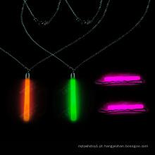 Brilho colar de pingente de brilho cintilante pingente de colar (xl660)