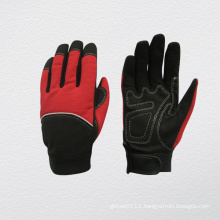 Microfiber Palm Reinforced Thumb Mechanic Work Gloves
