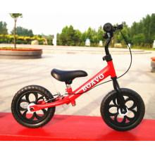 Armação de aço da bicicleta do equilíbrio do bebê, bicicleta a mais nova do equilíbrio das crianças
