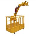 Кран грузовик опора автомобиля человек рабочая корзина рама коробка стол платформа для работы с высоким небом