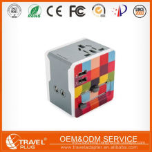 Promotional Customized Oem universal travel adapter Cutting 15 Pin To Usb Adapter
