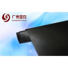 Black Brushed Vinyl Wrap For Car Cover , Uv Resistant 1.52x30m