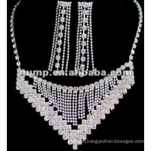 Latest bridal wedding jewelry set (GWJ12-453)