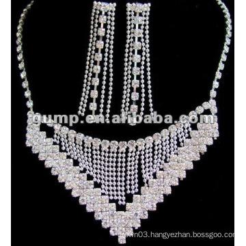 Latest bridal wedding jewelry set (GWJ12-453)