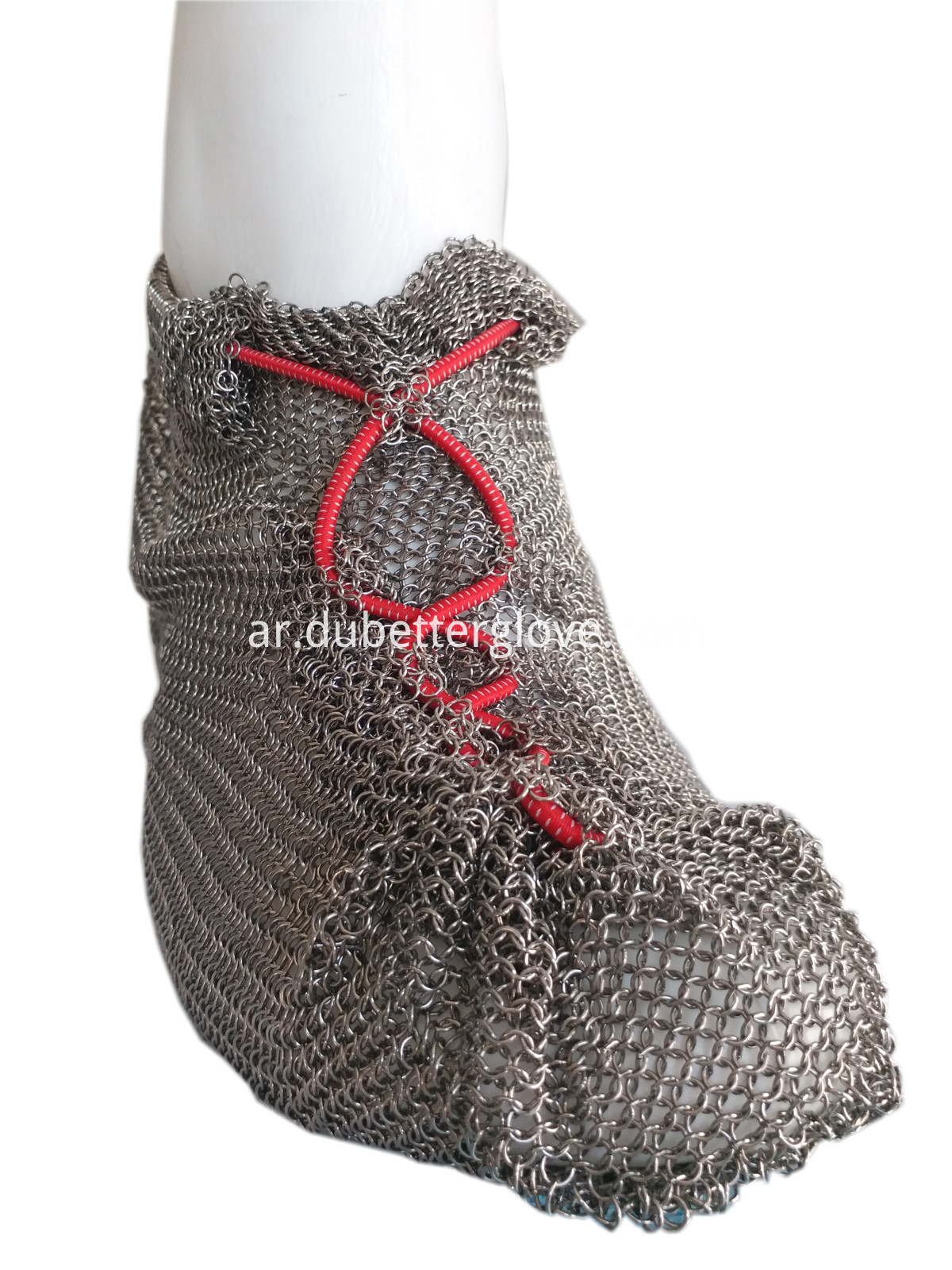 Dubetter chain mail mesh shoes