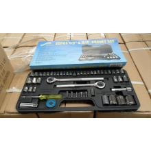 52pc 1/2 dan 3/8 inci drive set soket