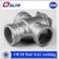 Custom cnc machining casting water pump valve spare parts